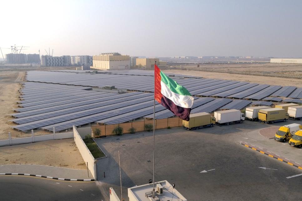 Dewa, Nestlé Middle East open 10GWh Shams Dubai solar plant