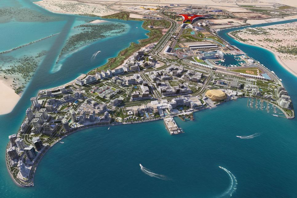 Miral notes construction progress on $3.3bn Yas Bay in Abu Dhabi