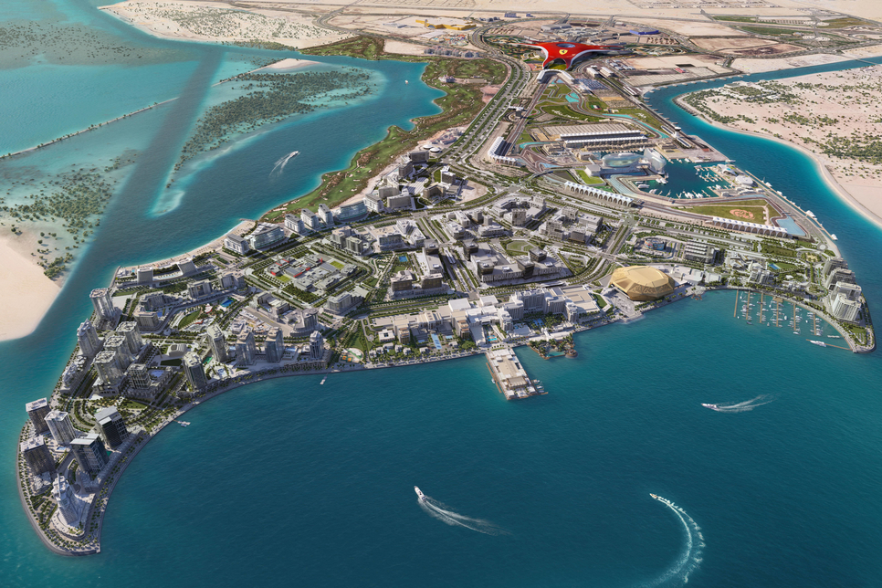 Miral notes construction progress on $3.3bn Yas Bay in Abu Dhabi