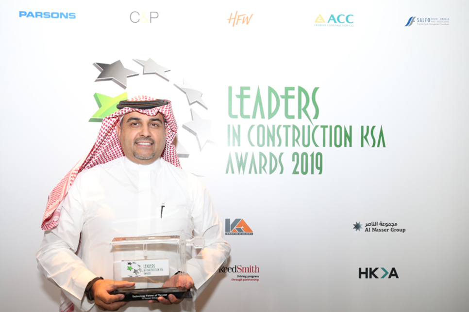 Leaders KSA Awards 2019: Al Nasser named top tech partner