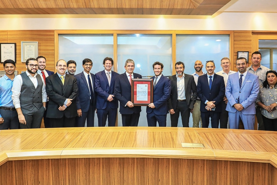 ECC says it is UAE's first contractor to receive BIM ISO certification