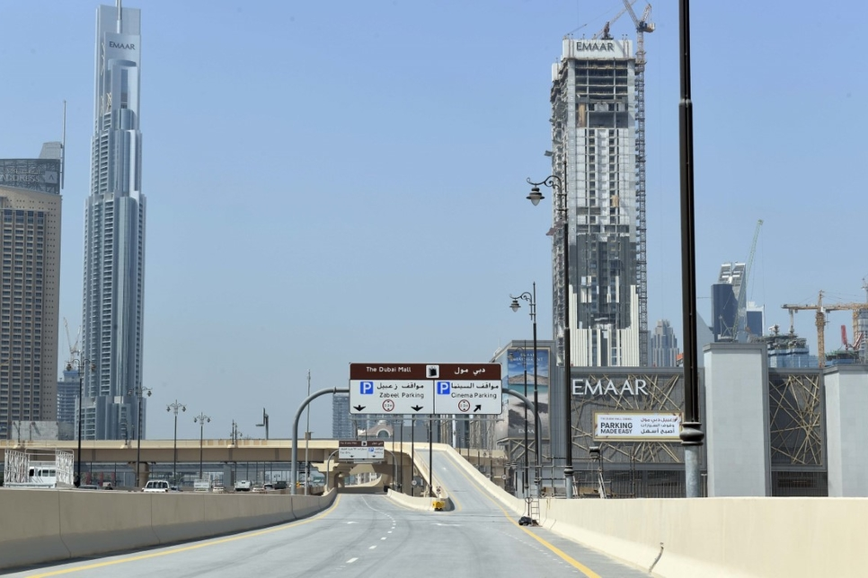 RTA to open bridges to Dubai Mall's Zabeel extension on 29 October