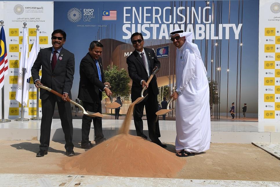 Ground breaks on Malaysian pavilion for Expo 2020 Dubai
