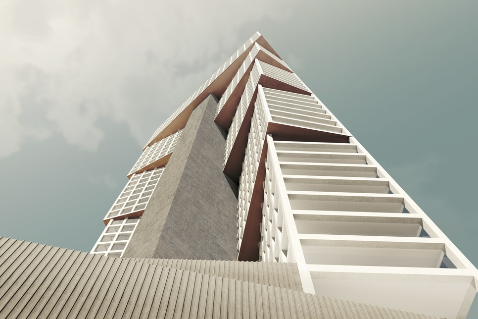 Iyad Alsaka, Reinier de Graaf reveal design for Kuwait's Wafra tower