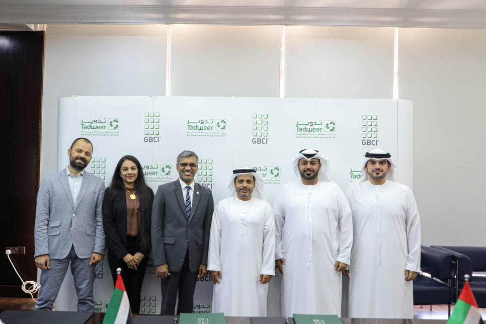 Tadweer, GBCI ink MoU on zero waste management in Abu Dhabi