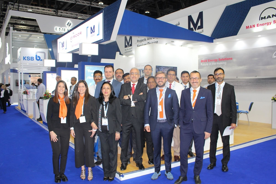 Al Masaood's PESD division focuses on energy solutions at Adipec 2019