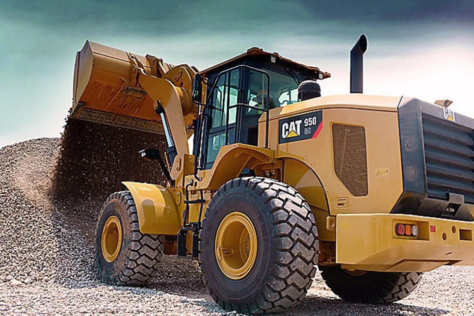 Al-Bahar's Caterpillar loaders suitable for construction sites
