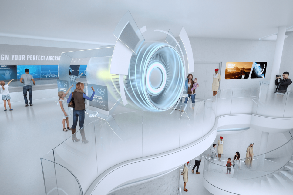 PICTURES: Emirates reveals interior plans for Expo 2020 Dubai pavilion
