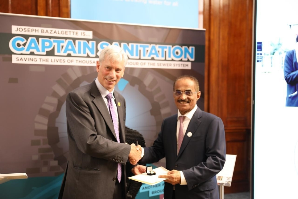 UAE Minister presented with London ICE fellowship