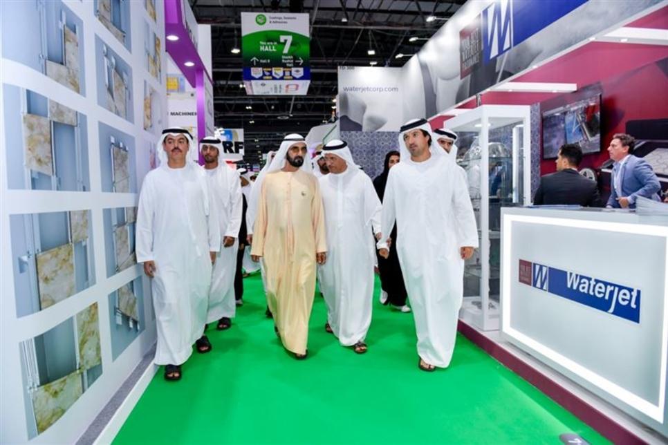 PICTURES: Dubai Ruler visits The Big 5 construction exhibition