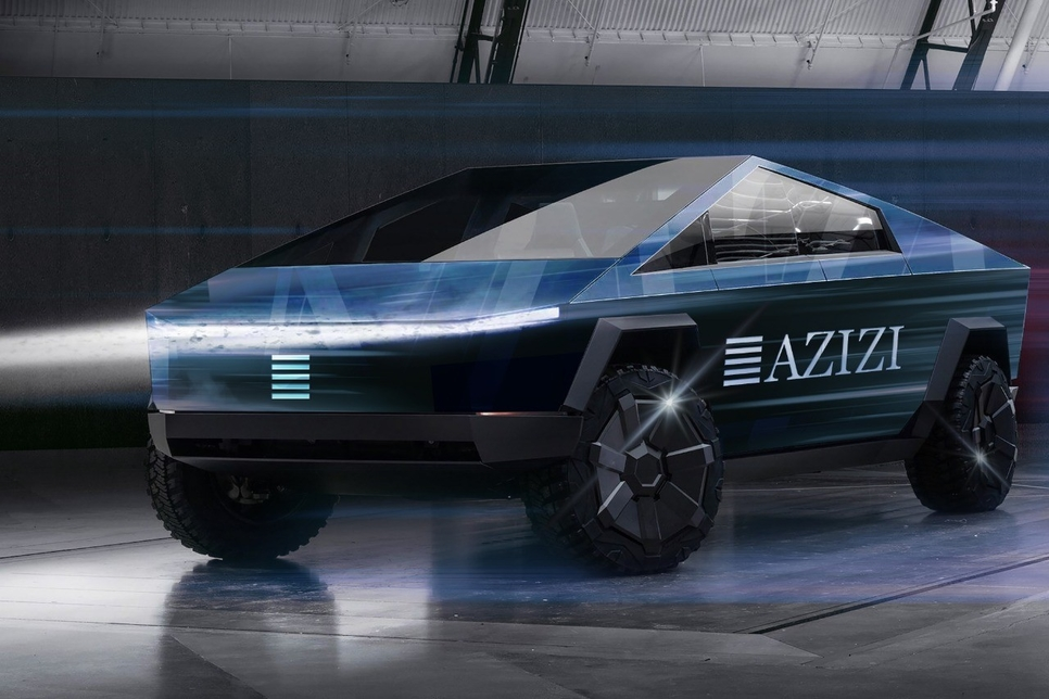 Azizi to use Tesla Cybertrucks for site visits by end-2021