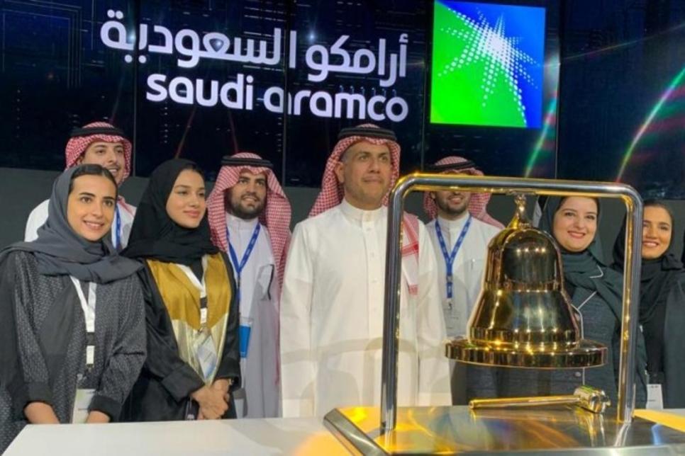 Saudi Aramco shares surge 10% on Tadawul stock market debut
