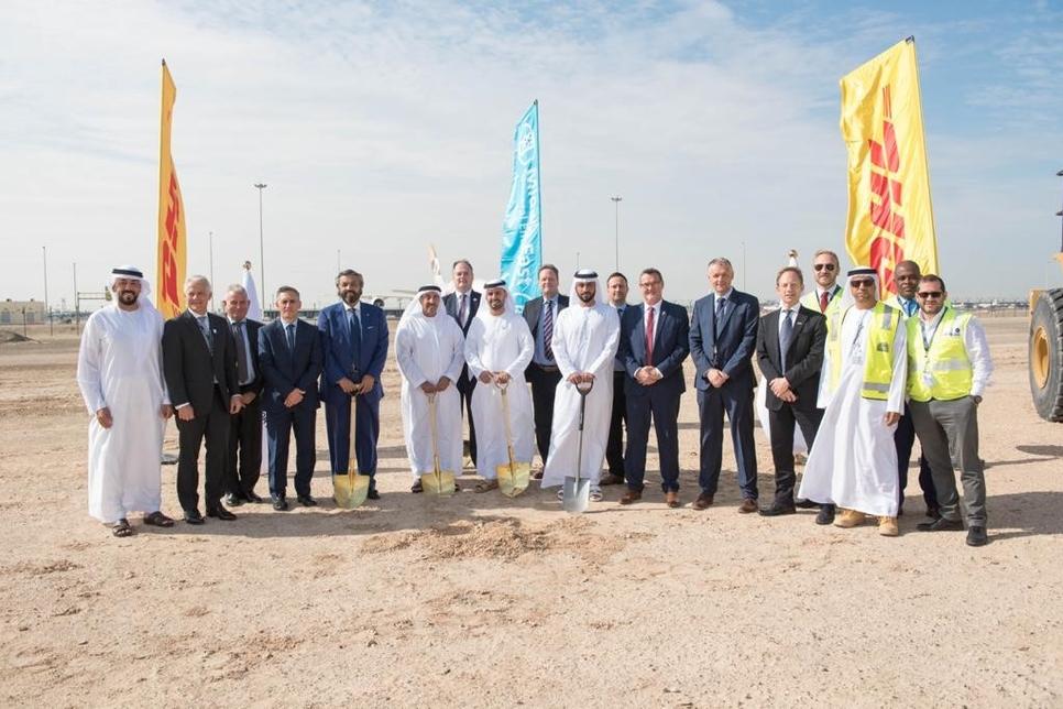 DHL breaks ground on logistics hub in Abu Dhabi Airports Free Zone