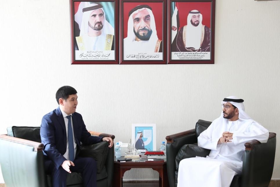 UAE's FTA deliberates land transport cooperation with Kazakhstan