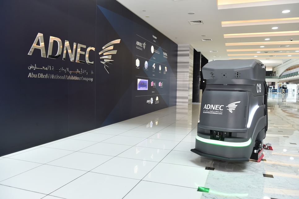 ADNEC invests in autonomous cleaning bots for support services