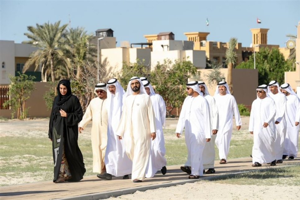 PICTURES: Sheikh Mohammed tours 80,000m2 archaeological site