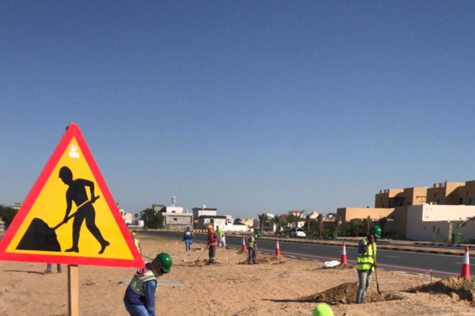 Al Bayt Mitwahid, Ghantoot work on Ajman's walking, cycling track