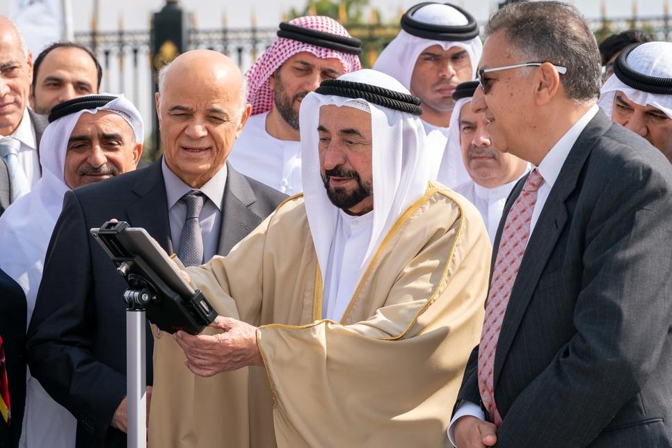 VIDEO: HH Dr Sheikh Sultan unveils Sharjah Radio Telescope Station