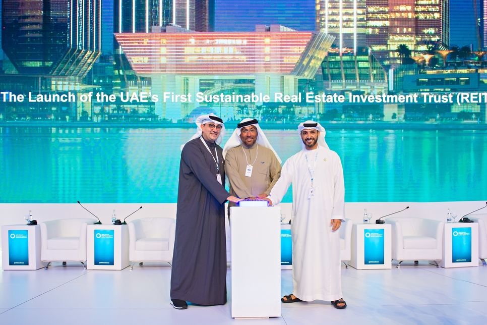 VIDEO: Masdar launches UAE's first green real estate investment trust