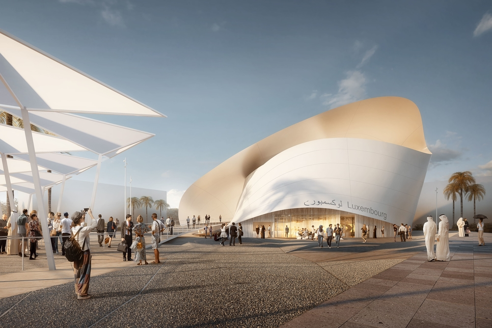 Construction of $32m Expo 2020 Luxembourg Pavilion 45% complete
