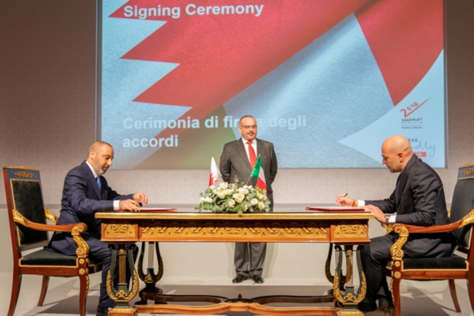 Bahrain's Alba inks deals with Italy's Fluorsid, FATA, and Techmo Car
