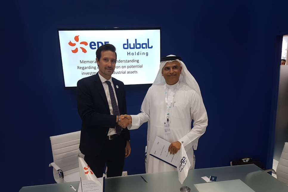 Dubal Holding, EDF Group ink MoU to explore power plant development