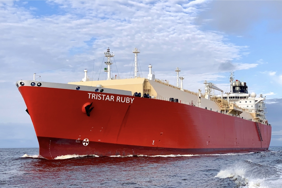 Tristar signs $24m LNG shipping service contract with London's BP