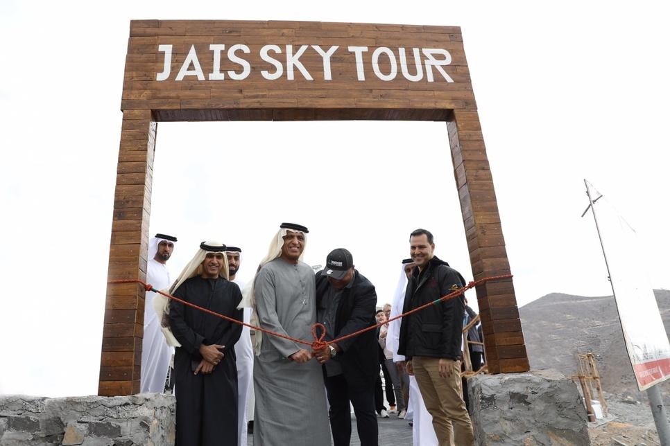 VIDEO: RAK Ruler opens UAE's highest peak Jebel Jais for adventure