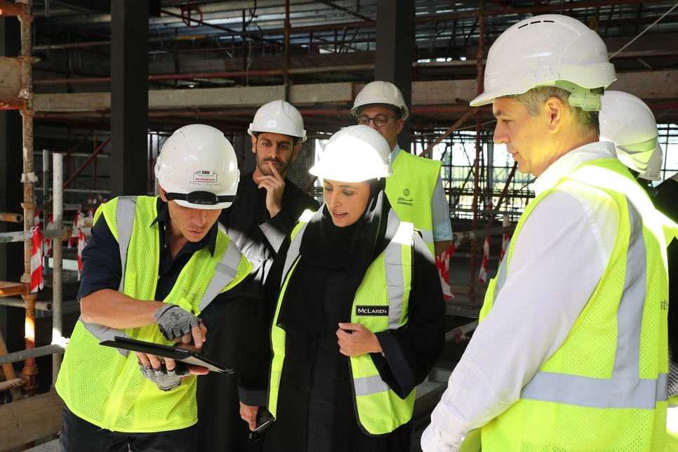 PICTURES: Sheikha Bodour visits Sharjah's 12,000m2 HOW library