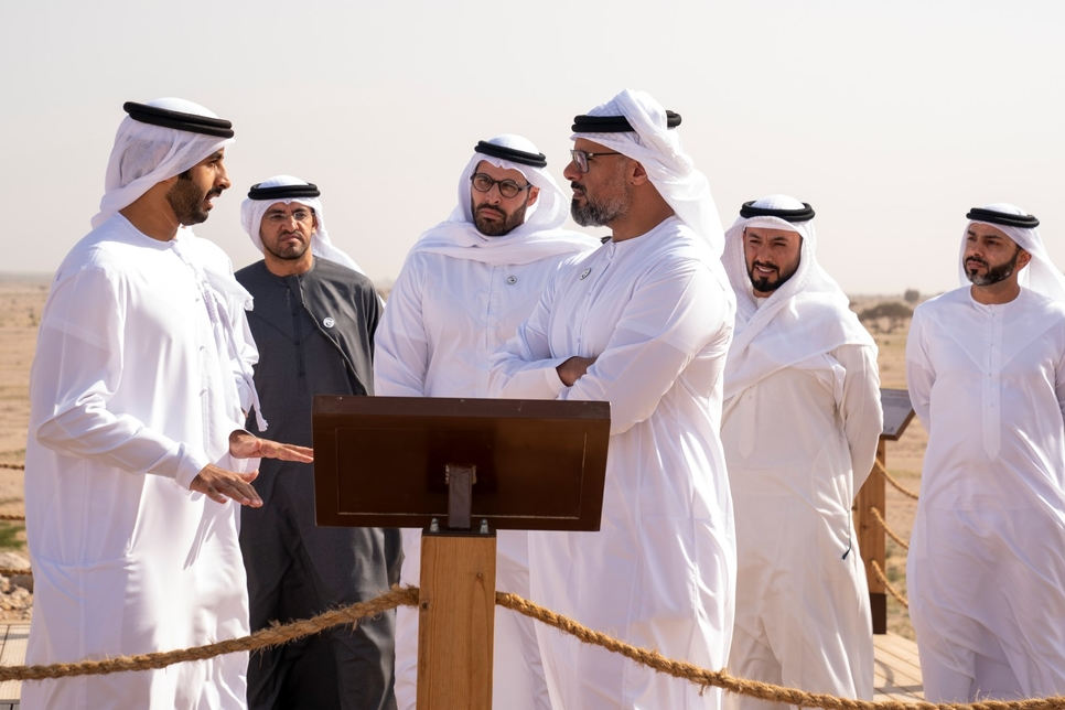 VIDEO: HH Sheikh Khalid opens the Jebel Hafit Desert Park