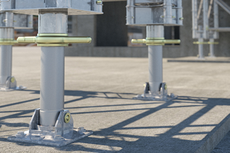 UK's RMD Kwikform launches 400kN modular propping system