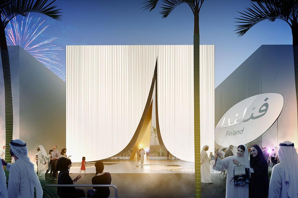 "Finland brings ""snow to the desert"" at Expo 2020 Dubai"