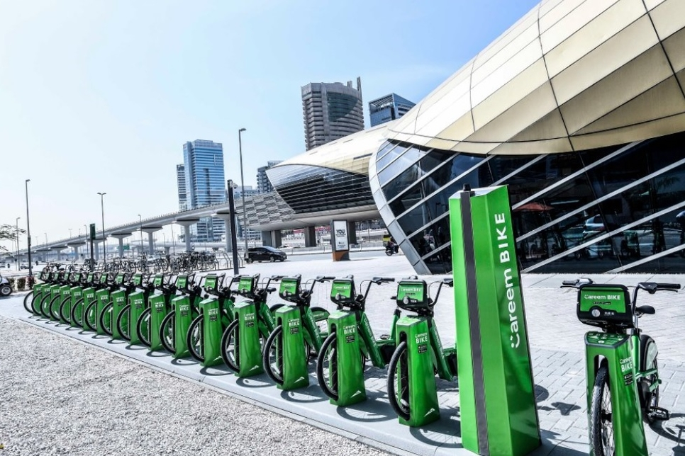 Dubai's RTA, Careem offer 780 bikes in Phase 1 of bike sharing service