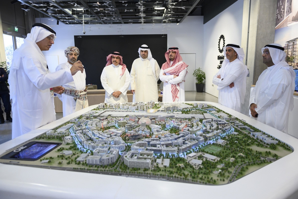 Minister of Interiors at Expo 2020 Dubai site