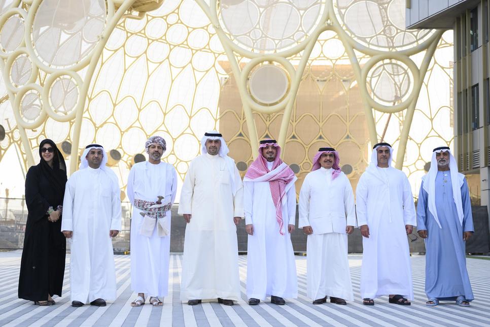 PICTURES: GCC Ministers of Interior visit Expo 2020 Dubai site