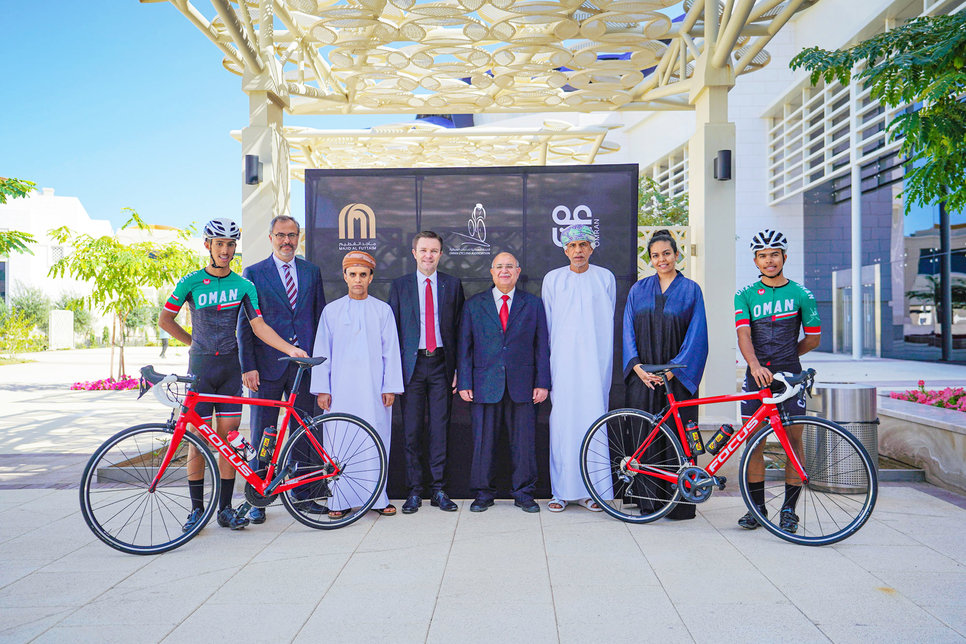 Oman's Madinat Al Irfan inks MoU to boost cycling in 5km2 project