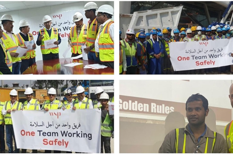 """WSP launches """"industry-first"""" #OneTeamWorkingSafely initiative"""