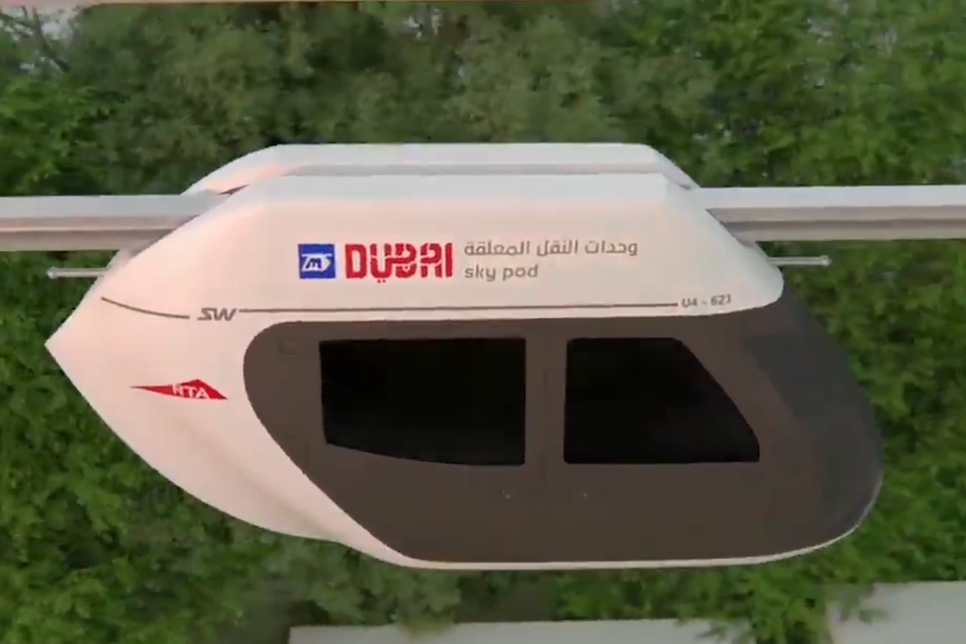 VIDEO: RTA, UK's Beemcar to develop sky pods project in Dubai