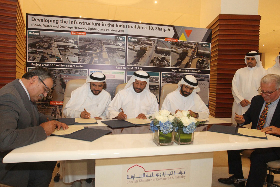 Sharjah Contracting, Khatib & Alami to work on 2.16km2 infra project