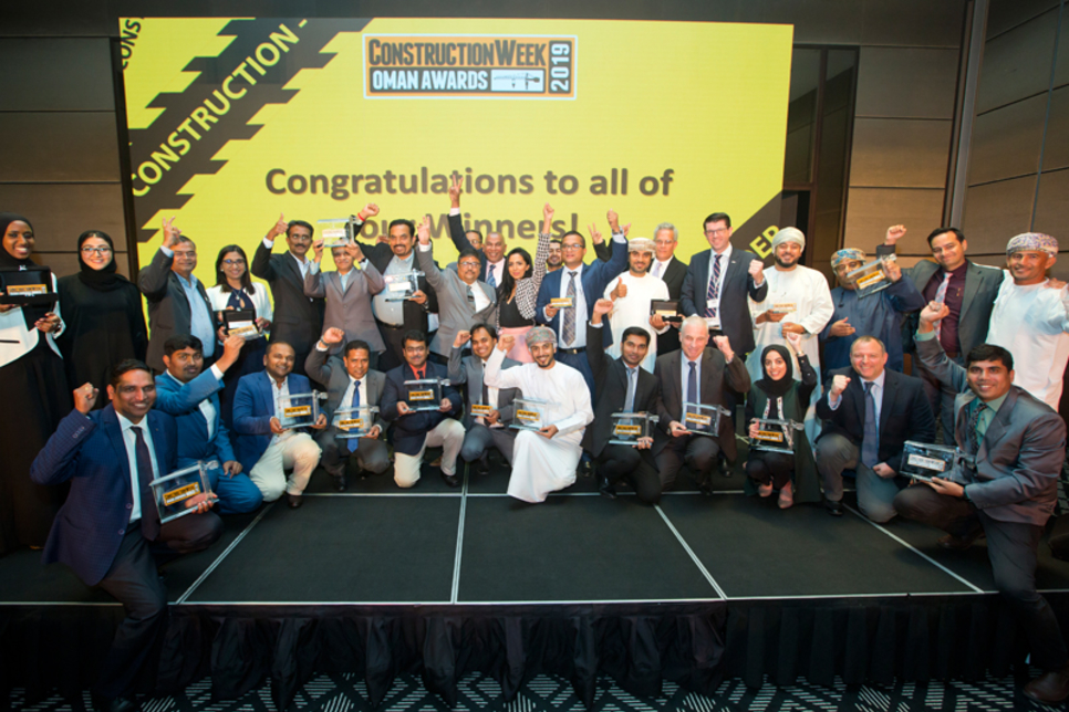 CW Awards Oman 2020: Contractor of the Year shortlist revealed