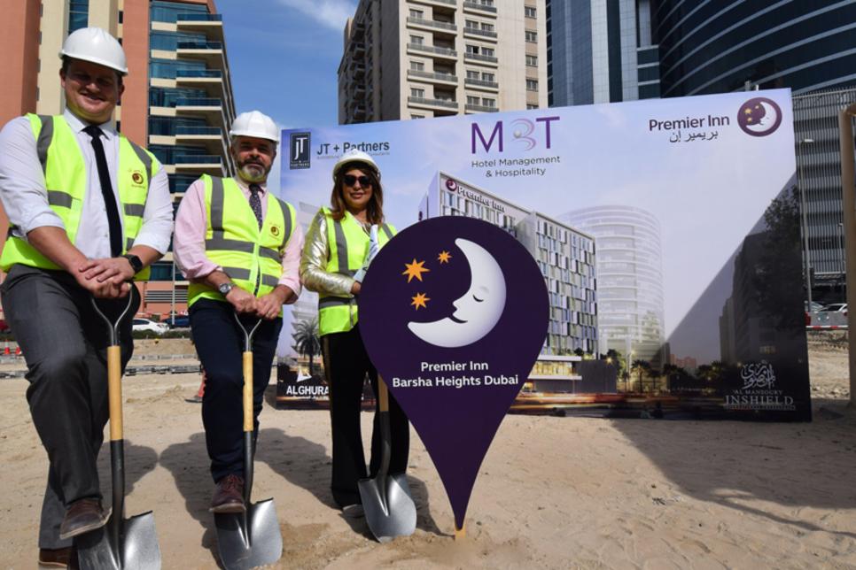 Ground breaks on Premier Inn hotel in Dubai's Barsha Heights