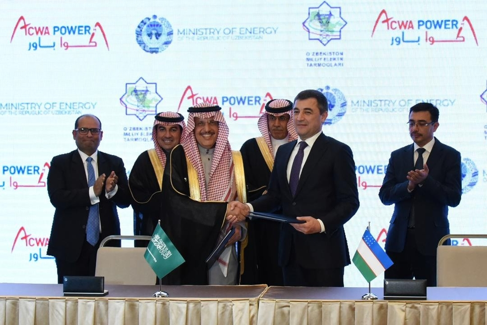 Saudi's ACWA Power to build $2.5bn Uzbekistan renewable energy plants
