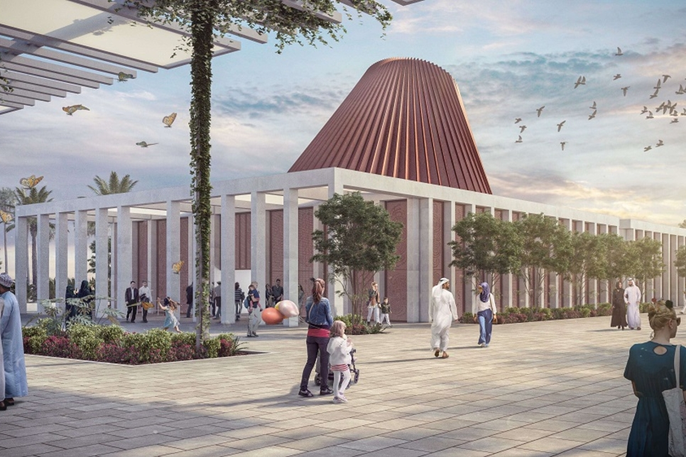 Design of Expo 2020 Dubai's Ireland Pavilion in Mobility District revealed