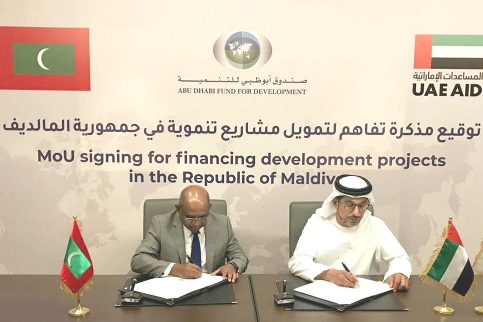 ADFD approves $50m funding for development projects in Maldives
