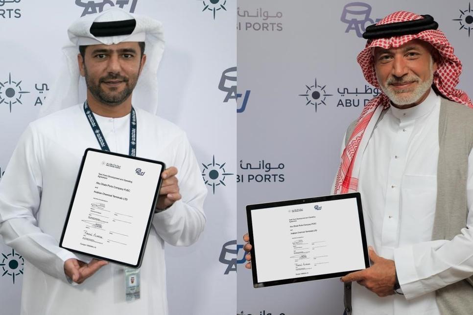 Abu Dhabi Ports to build storage terminal at Khalifa Port