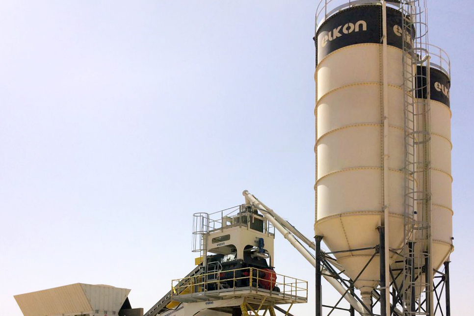 Turkey's Elkon provides concrete mixing plant for Egypt sugar refinery