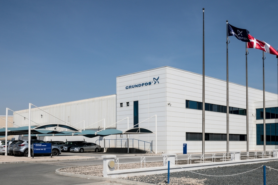 Grundfos Dubai facility secures LEED Platinum recognition