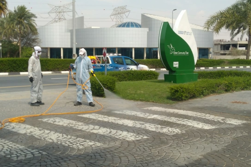 COVID-19: Dubai Investments Park rolls out disinfection drive