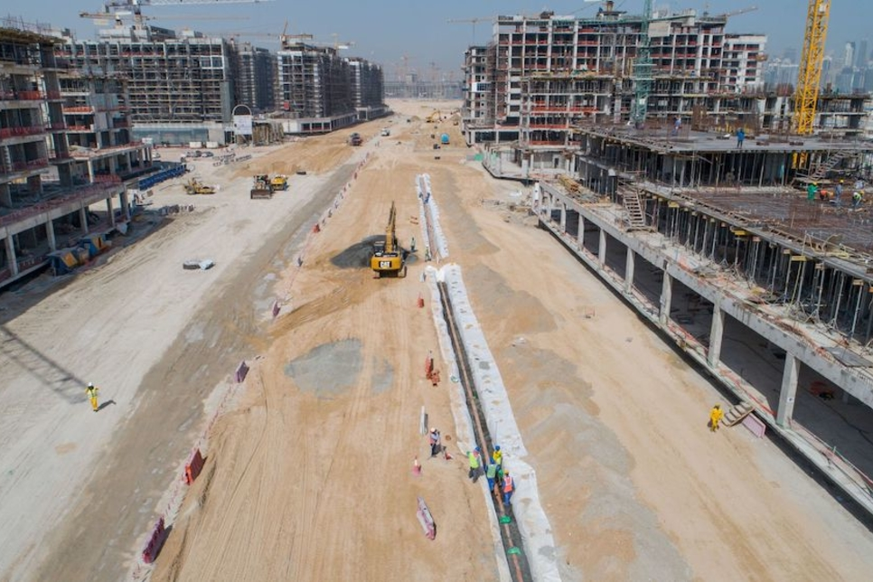 Azizi notes progress on infrastructure works at $3.2bn Riviera in MBR City
