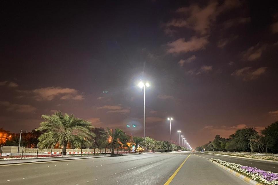 Abu Dhabi Municipality replaces 4,184 streetlights with LED lights